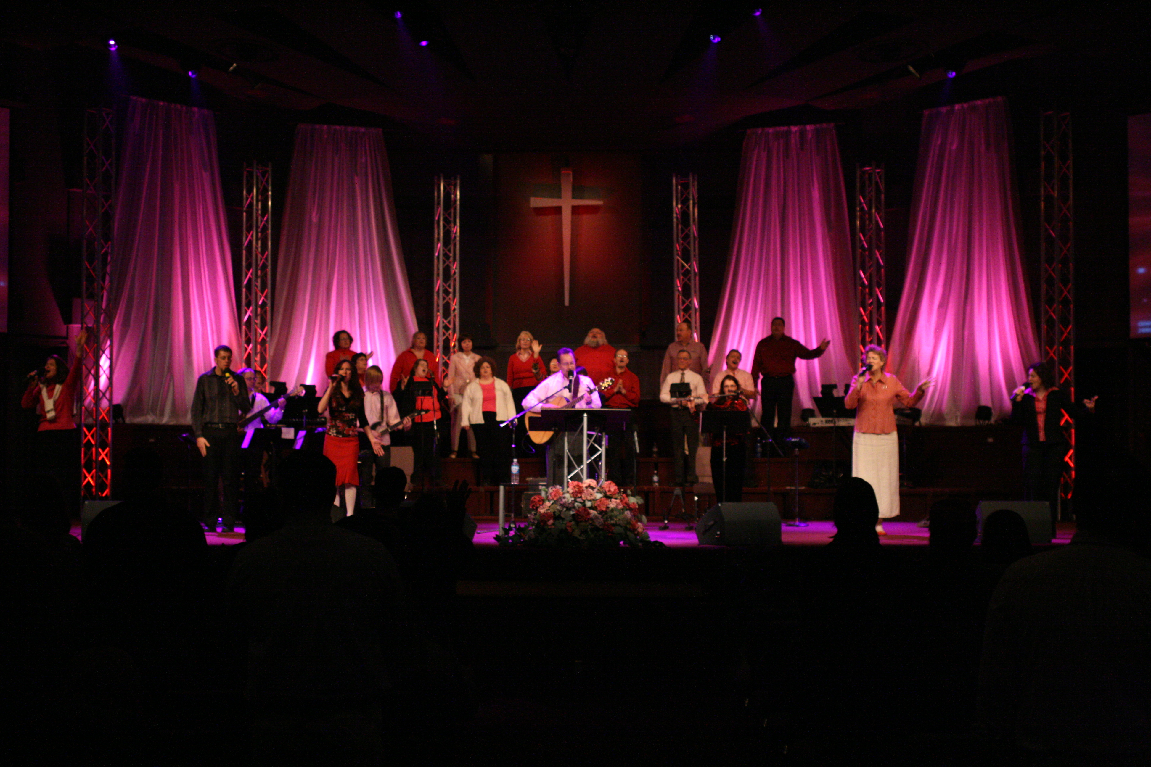 Awesome Images Of Church Stage Decoration Ideas